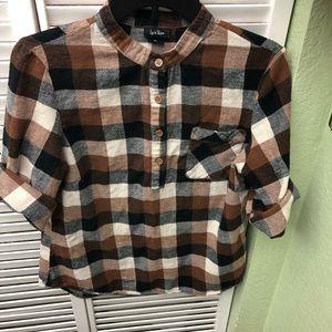 Lucie Rose light flannel shirt
